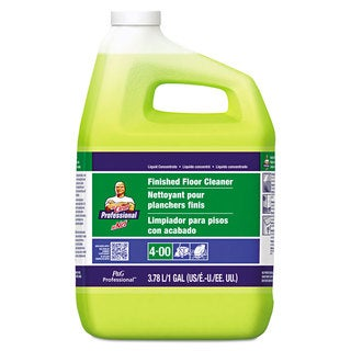 Mr. Clean Finished Floor Cleaner Lemon Scent One Gallon Bottle