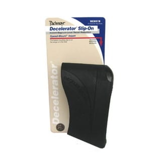 Pachmayr Decelerator Recoil Pads Slip-on Recoil Pad, (Small, Black)
