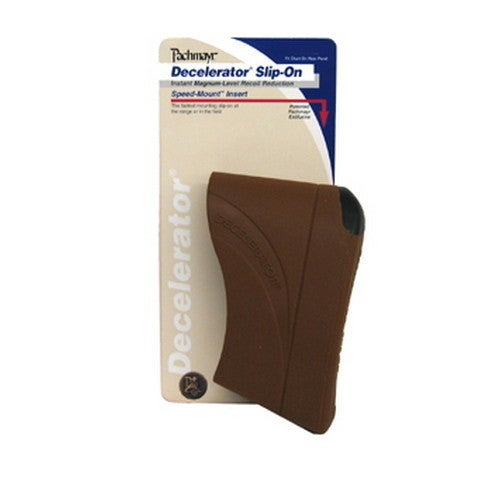 Pachmayr Decelerator Recoil Pads Slip-on Recoil Pad, (Large, Brown)