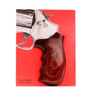 Pachmayr Renegade Wood Laminate Revolver Grips Smith & Wesson N Frame, Smooth, Rosewood