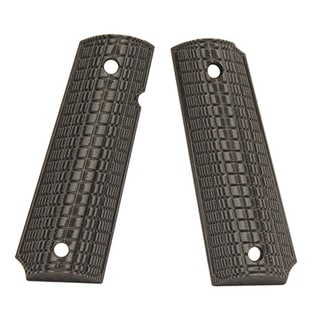 Pachmayr G-10 Tactical Pistol Grips 1911, Coarse, Green/Black