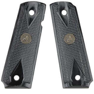 Pachmayr Colt 1911 Grip Double Diamond Charcoal Checkered