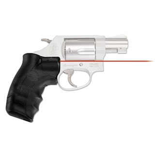 Crimson Trace Smith and Wesson J-Frame Round Butt Lasergrip, Red, Clam Package