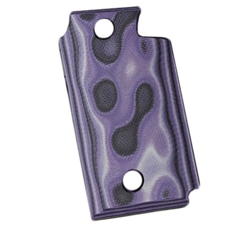 Hogue Sig P938 Ambidextrous Extreme Series Grip Smooth G-Mascus G10, Purple Lava