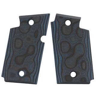 Hogue Sig P938 Ambidextrous Extreme Series Grip Smooth G-Mascus G10, Blue Lava