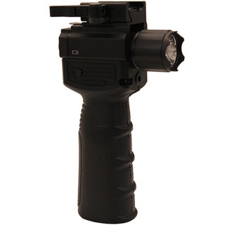 NcStar Vertical Grip with Flashlight and Green Laser