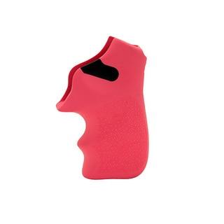Hogue Ruger LCR Grip Tamer, Rubber Finger Grooves, Pink