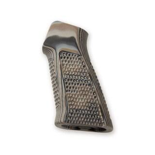 Hogue AR-15 No Finger Grooves, Grip Pirahna G10 Dark Earth