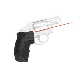Crimson Trace Smith and Wesson J-Frame Round Butt Lasergrip, Red