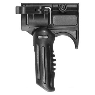 "Mako Group Tactical Folding Grip w/1"" Flashlight Adapter"