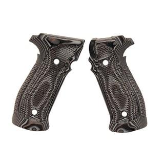 Hogue Sig P226 Grips DA/SA Magrip Pirahna G10 G-Mascus Black/Gray