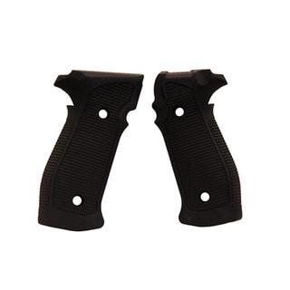 Hogue Sig P226 Grips DA/SA Magrip Pirahna G10 Solid Black