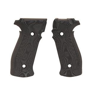 Hogue Sig P226 Grips DA/SA Magrip Pirahna G10 G-Mascus Black
