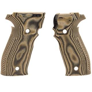 Hogue Sig P226 Grips DA/SA Allround Checkered G10 G-Mascus Green