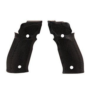 Hogue Sig P226 SAO X5/X6 Grips Checkered G10 Solid Black