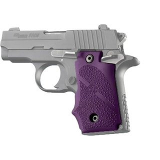 Hogue Sig P238 Grips w/Finger Grooves, Purple