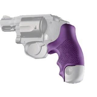 Hogue S&W J Frame Round Butt Grip Polymer, Purple