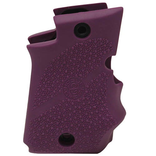 Hogue Sig P938 Rubber Grip Ambidextrous, Finger Grooves, Purple