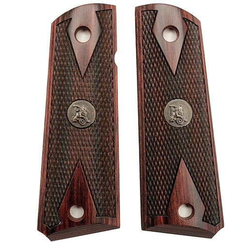 Pachmayr Colt 1911 Grip Double Diamond Rosewood