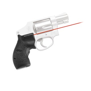 Crimson Trace Smith and Wesson J Frame Round Butt-Polymer Grip, Overmold, Front Activation, Clam Pack