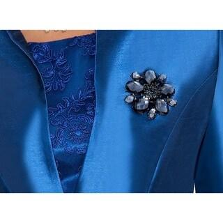 Ella Belle Women's Jacket with Lace Dress 2-Piece Set