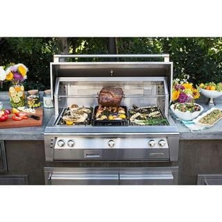 Alfresco 42-inch ALXE Standard Grill Head With Rotisserie