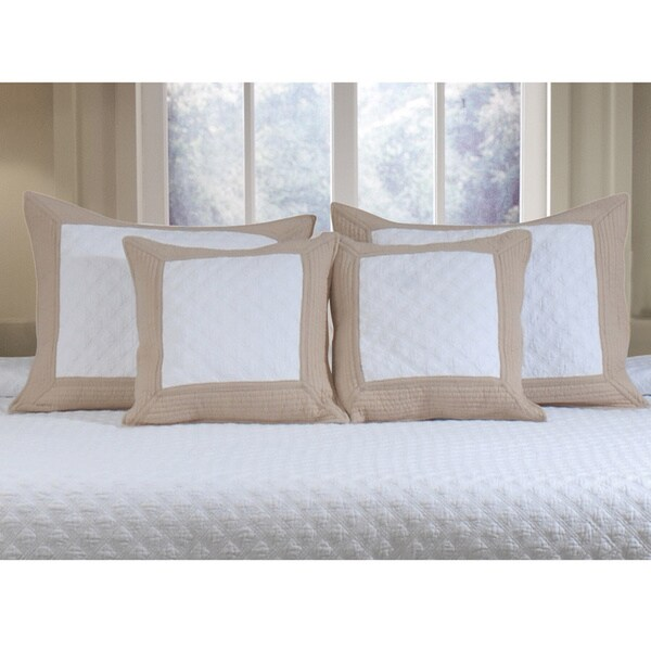 Greenland Home Fashions  Brentwood Standard Pillow Sham (Set of 2)