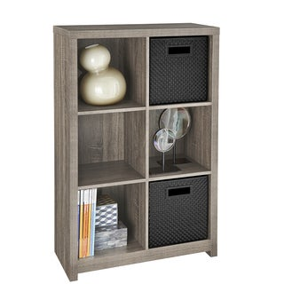 ClosetMaid Brown Cubeicals Premium 6-cube Organizer