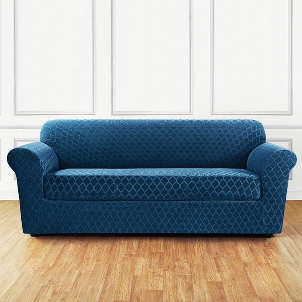 Sofa Stretch Covers: Shop Sure Fit Stretch Grand Marrakesh 2 Piece Sofa