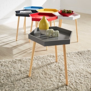 Andrena Hexagon Accent Table iNSPIRE Q Modern