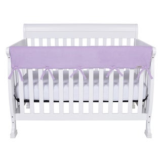 Trend Lab CribWrap Lavender Fleece Rail Cover