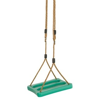 Swingan One Of A Kind Standing Swing With Adjustable Ropes Fully Assembled Green