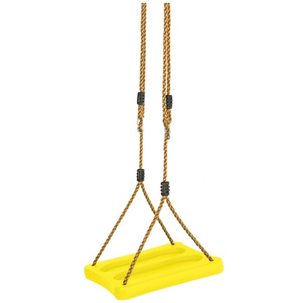 Swingan One Of A Kind Standing Swing With Adjustable Ropes Fully Assembled Yellow