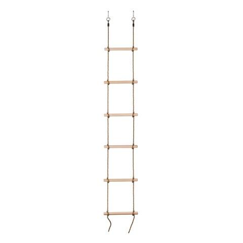 Swingan 6 Steps Gymnastic Climbing Rope Ladder Fully Assembled