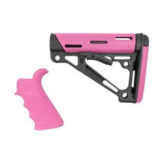 Hogue AR15 OMCB BFG Grip - Com/Mil-Spec Pink
