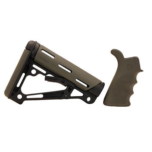 Hogue AR15 OMCB BFG Grip - Com/Mil-Spec Olive Drab Green