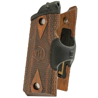 Crimson Trace 1911 Officer's/Compact/Defender Cocobolo Diamond Pattern