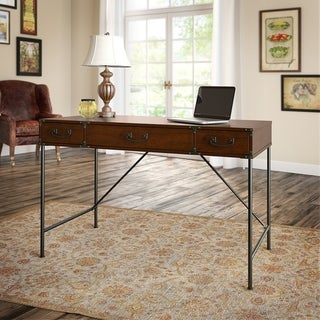 Link to Ironworks 48W Writing Desk from kathy ireland Home by Bush Furniture Similar Items in Desks & Computer Tables