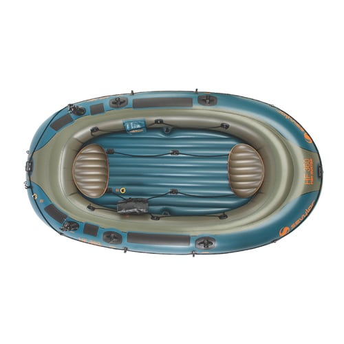 Sevylor Fish Hunter™ 360 6-Person Fishing Boat with Berkley® Rod Holder