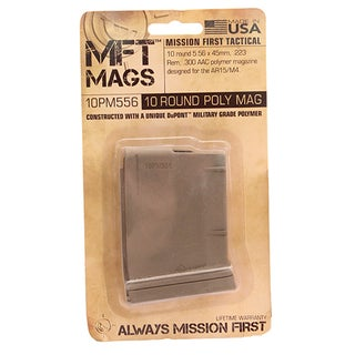Mission First Tactical AR15 Magazine 10 Rounds, Scorched Dark Earth