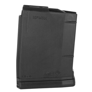 Mission First Tactical AR15 Magazine 10 Rounds, Black