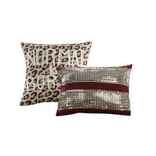 Artistic Linen Rihanna 5-piece Comforter Set with Two Fun Decorative Pillows