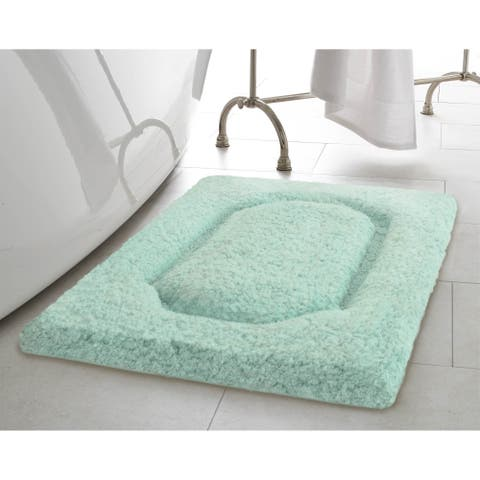 Vista Living Blossom Premium 20 x 32 in. Super Plush Bath Rug