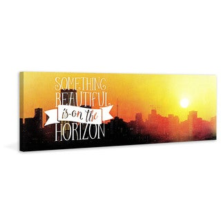 Marmont Hill - 'Something Beautiful' Painting Print on Wrapped Canvas