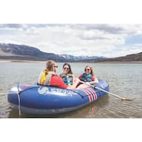 Shop LayZRiver Inflatable 1-Person Swim Float Mattress