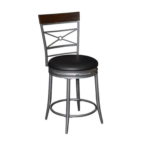 Shop Powell Rory Big And Tall Metal Foam Counter Stool