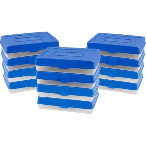 Storex Large Pencil Case / Blue (12 units/pack)