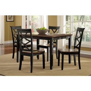Harrison Black Counter Height Dining Set