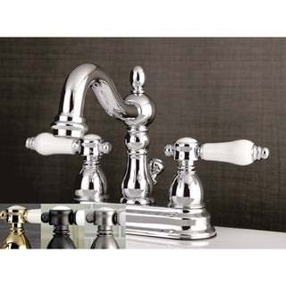 porcelain handle bathroom faucet. Victorian Porcelain Handles Bathroom Faucet Restoration Chrome Widespread