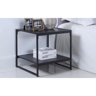 Modern 20 Inch Square Side Table / End Table / Coffee Table